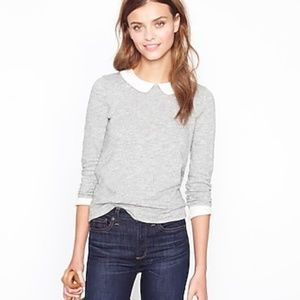 J Crew Peter Pan Collared Top